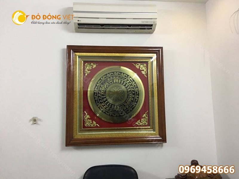 Tranh trống đồng Đông Sơn Trang trí phòng khách